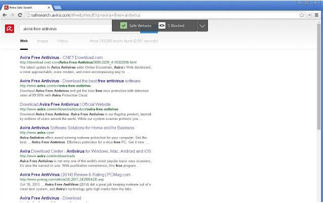 Vorschau Avira Browserschutz für Chrome - Bild 2