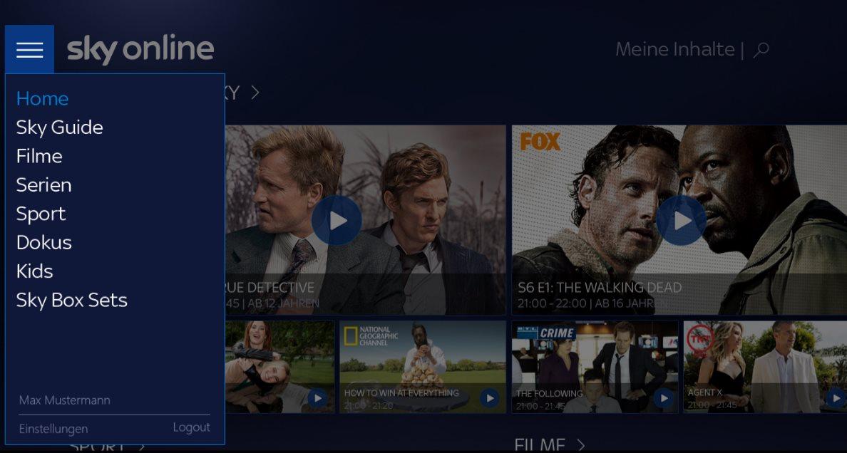 Vorschau Sky Online für Windows 10 - Bild 2