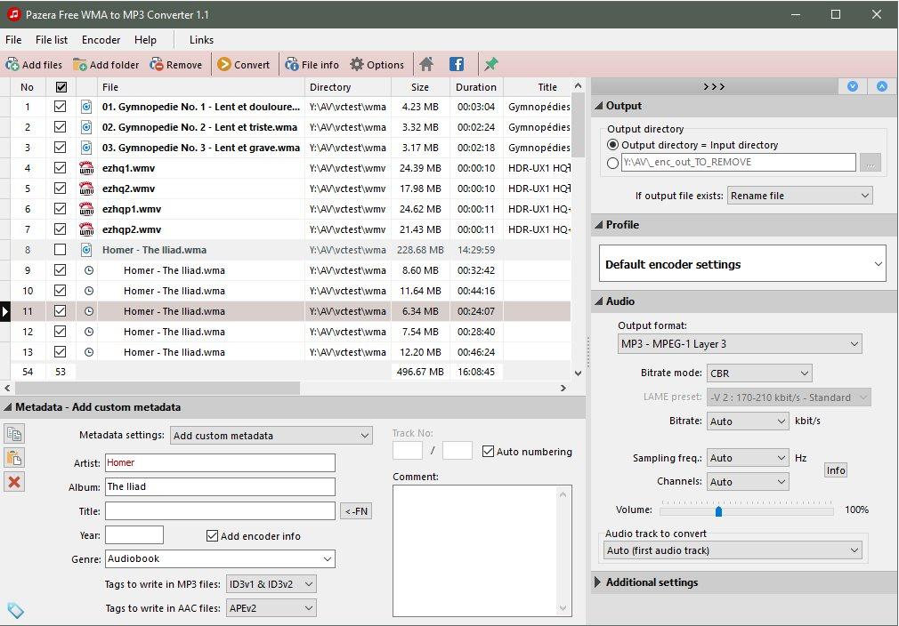 Vorschau Pazera Free WMA to MP3 Converter - Bild 2