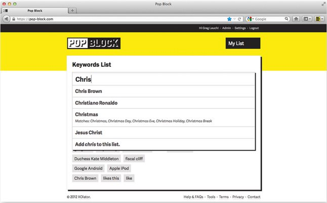 Vorschau Pop Block für Firefox - Bild 2