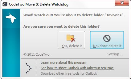 Vorschau CodeTwo Move and Delete Watchdog - Bild 2