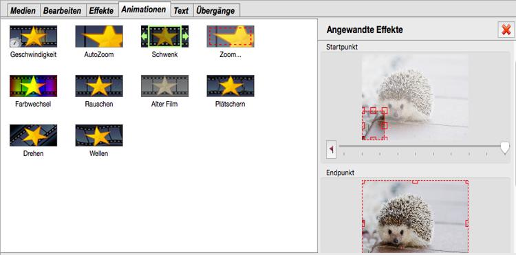 Vorschau PhotoStage Diashow-Programm Mac - Bild 2