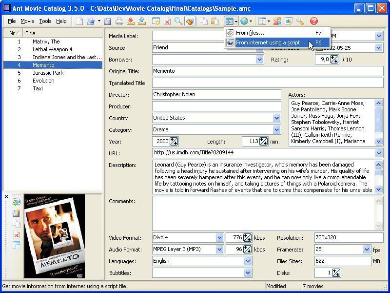Vorschau Ant Movie Catalog - Bild 2