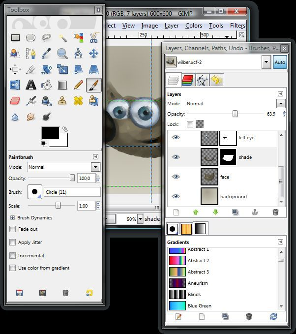 Vorschau The Gimp for Windows - Bild 3