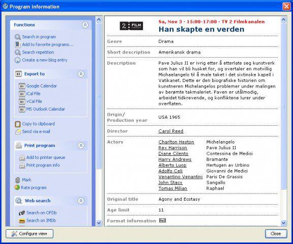 Vorschau TV-Browser und Portable - Bild 3