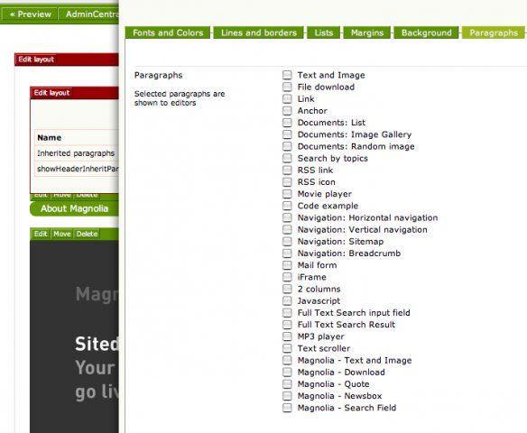 Vorschau Magnolia Content Management System - Bild 3