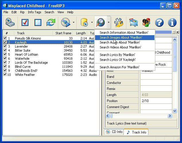 Vorschau FreeRIP MP3 - Bild 3