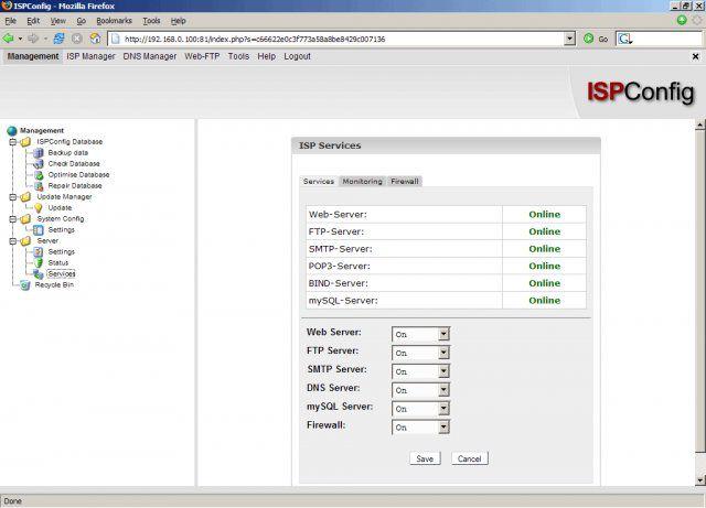 Vorschau ISPConfig Hosting Control Panel - Bild 3