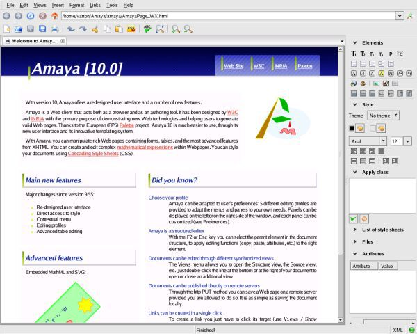 Vorschau Amaya for Windows - Bild 3