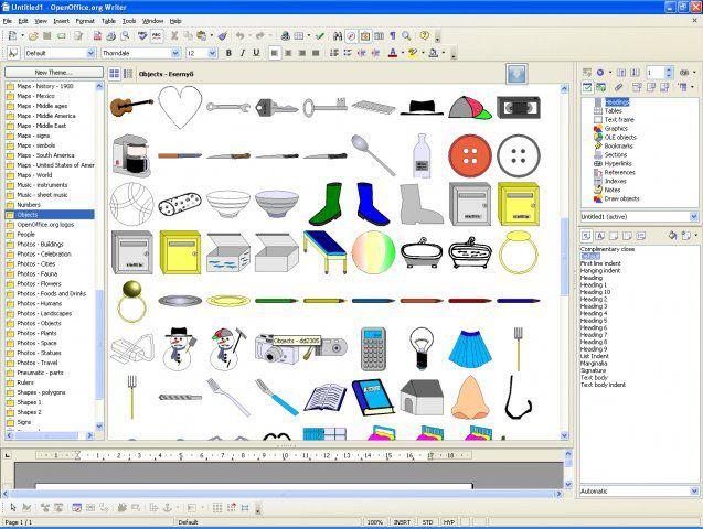Vorschau OxygenOffice - Bild 3