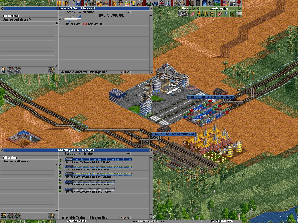 Vorschau OpenTTD for Windows - Bild 3