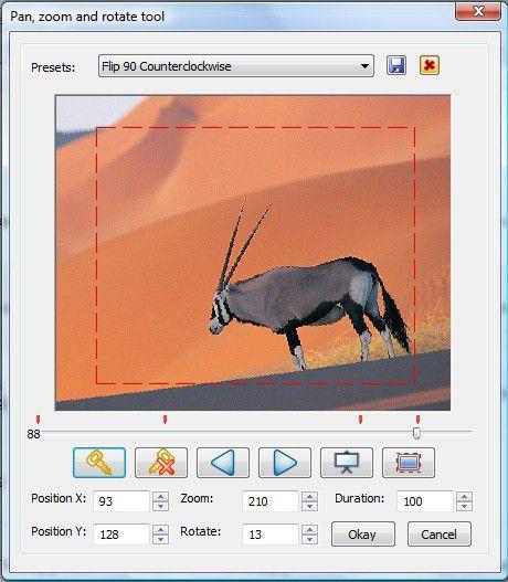 Vorschau DVD Slideshow GUI - Bild 3