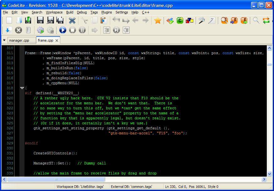 Vorschau CodeLite - Bild 3