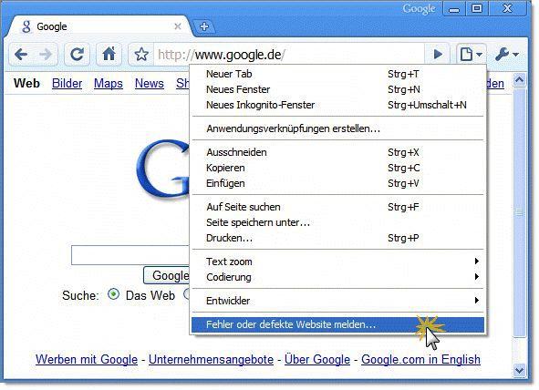 Vorschau Google Chrome - Bild 3