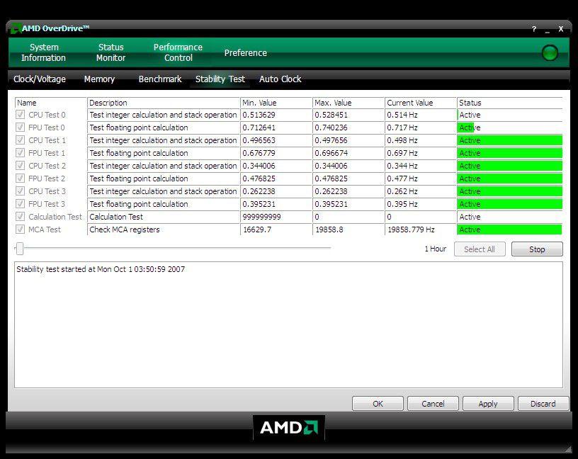 Vorschau AMD OverDrive - Bild 3
