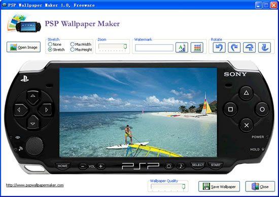 Vorschau PSP Wallpaper Maker - Bild 3