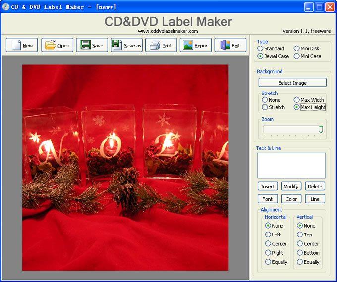 Vorschau CD and DVD Label Maker - Bild 3