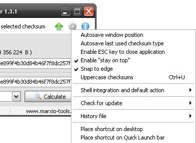 Vorschau Marxio File Checksum Verifier - Bild 3
