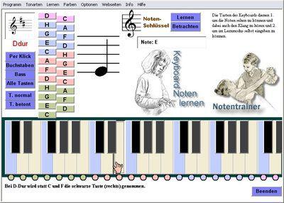 Vorschau Keyboard Notentrainer - Bild 3