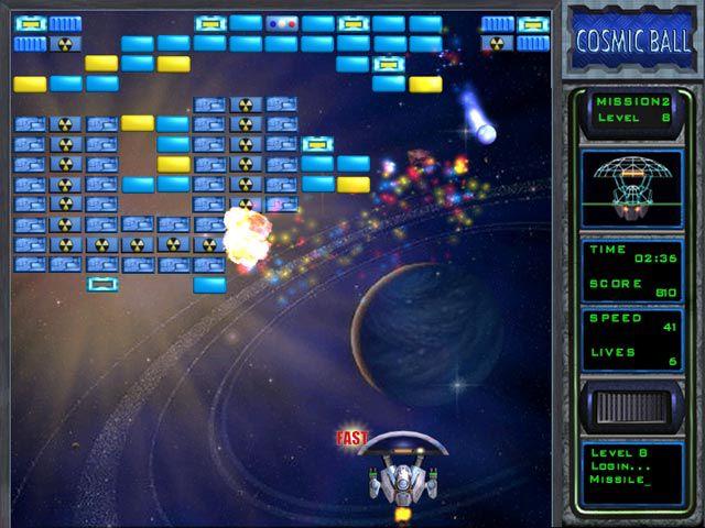 Vorschau FreeGames CosmicBall - Bild 3