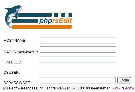 Vorschau phprsEdit - Bild 3