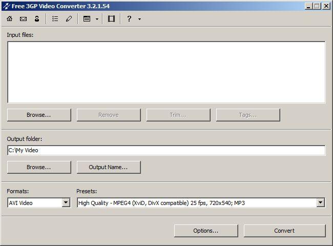 Vorschau Free 3GP Video Converter - Bild 3