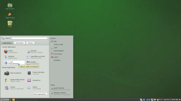 Vorschau openSUSE - Bild 3