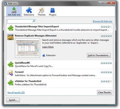 Vorschau Mozilla Thunderbird - Bild 3