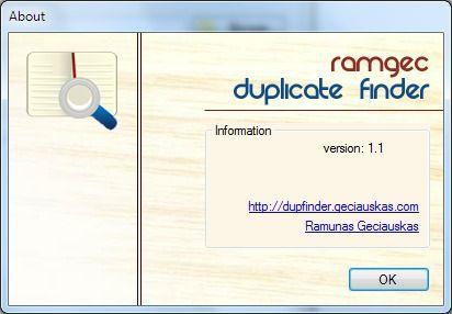 Vorschau RamGec Duplicate Finder - Bild 3