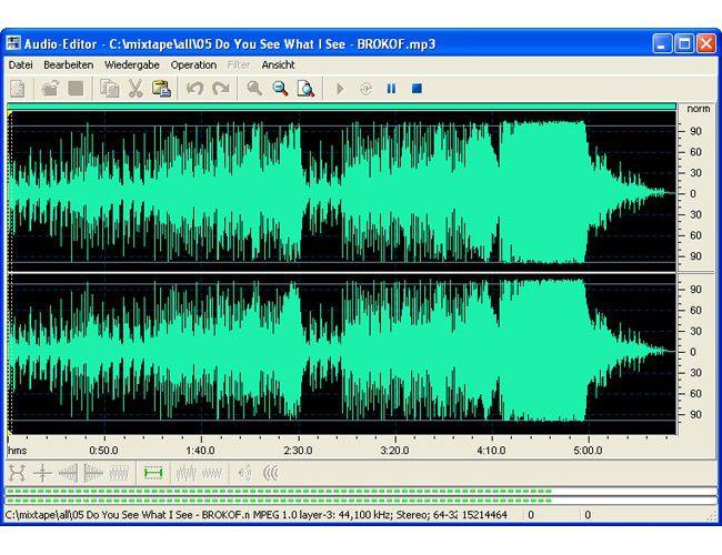 Vorschau Audio Editor - Bild 3