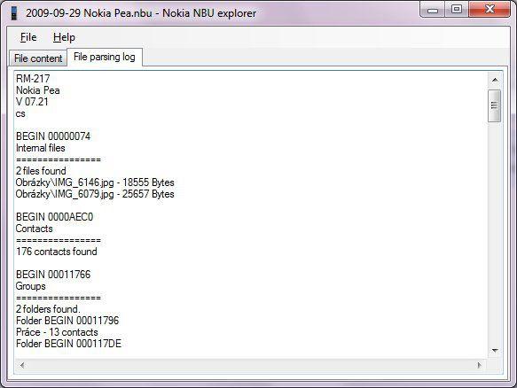 Vorschau Nokia NbuExplorer - Bild 3