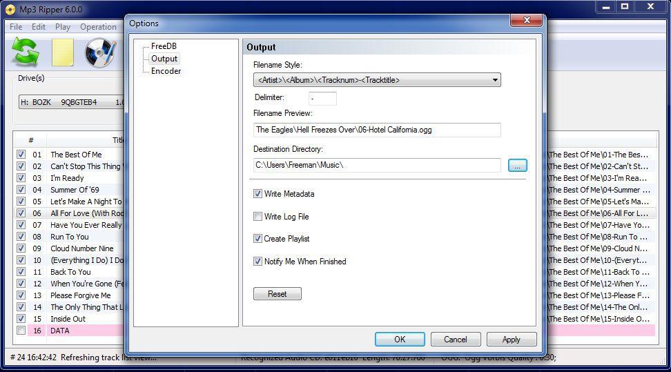Vorschau MP3 Ripper - Bild 3