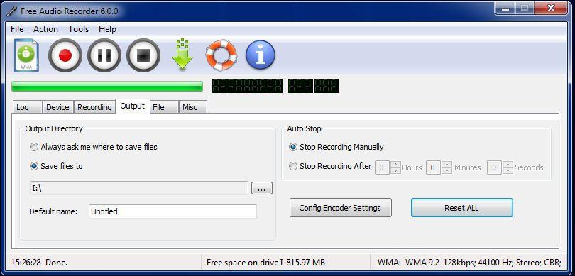 Vorschau Free Audio Recorder - Bild 3