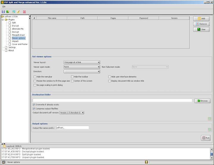 Vorschau PDFsam - ehemals PDF Split and Merge - Bild 3