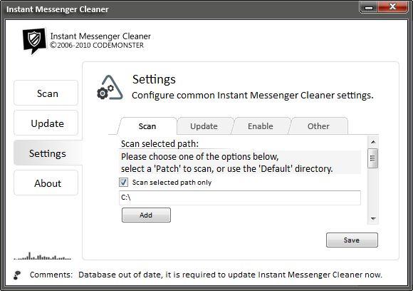 Vorschau Instant Messenger Cleaner - Bild 3