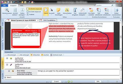 Vorschau Nitro PDF Reader - Bild 3