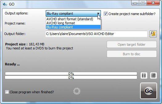 Vorschau Free AVCHD Editor - Bild 3