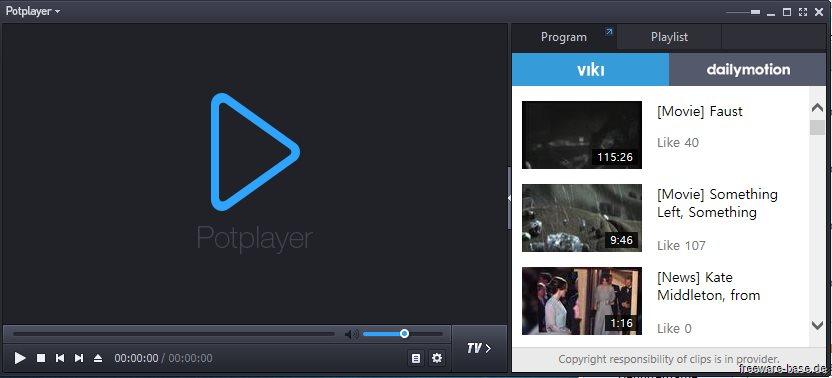 Vorschau Daum PotPlayer - Bild 3