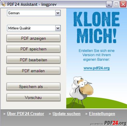 Vorschau PDF24-creator - Bild 3