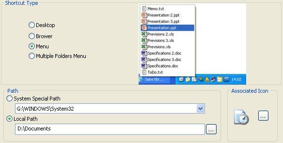 Vorschau QuickWayToFolders - Bild 3