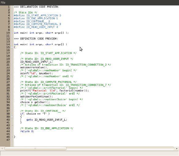 Vorschau CodeDesigner - Bild 3