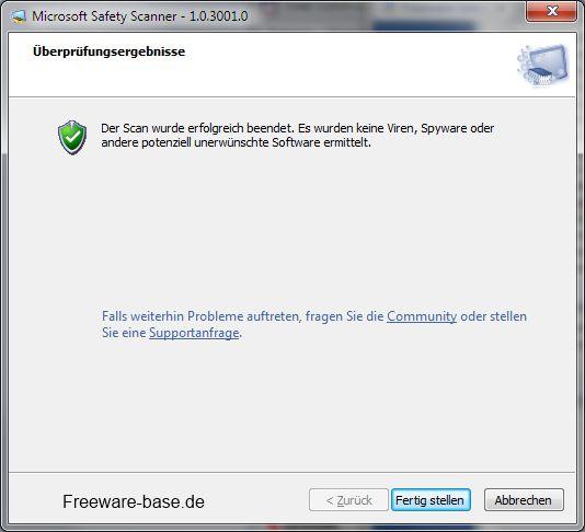 Vorschau Microsoft Safety Scanner - Bild 3
