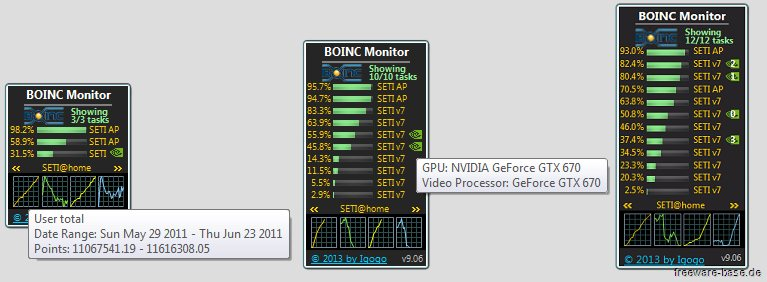Vorschau BOINC Monitor - Bild 3