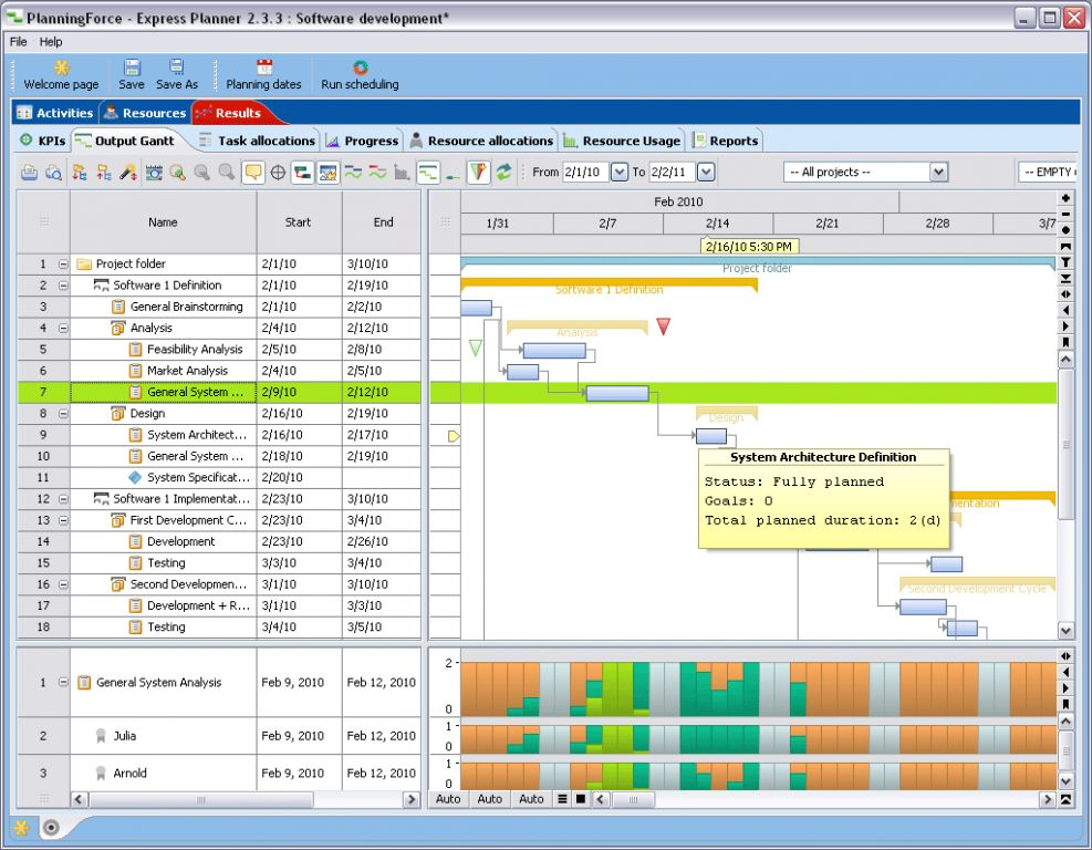 Vorschau PlanningForce Express Planner - Bild 3