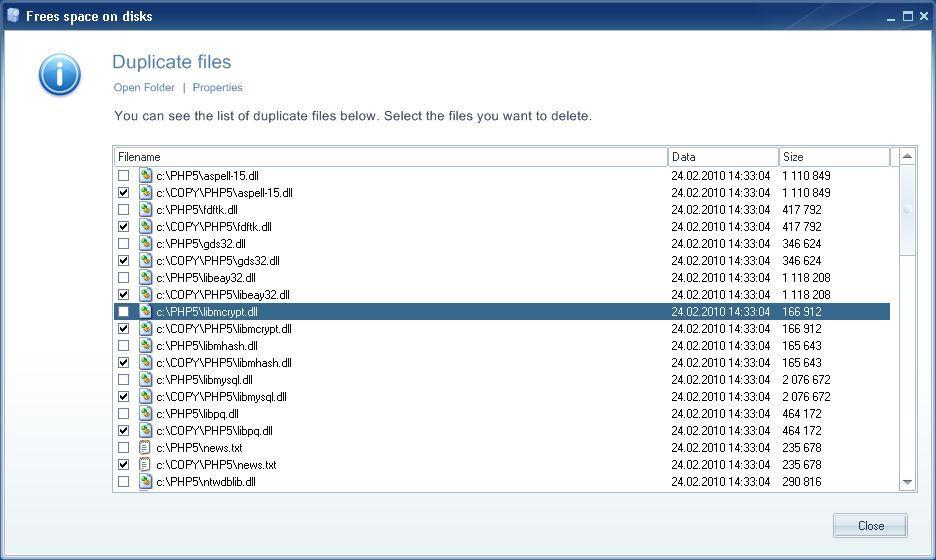 Vorschau Ainvo Duplicate File Finder - Bild 3