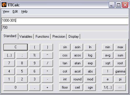 Vorschau TTCalc - Bild 3