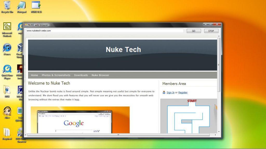 Vorschau Nuke Browser - Bild 3