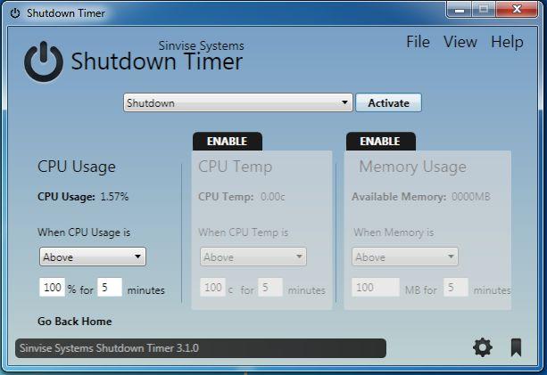 Vorschau Shutdown Timer - Bild 3