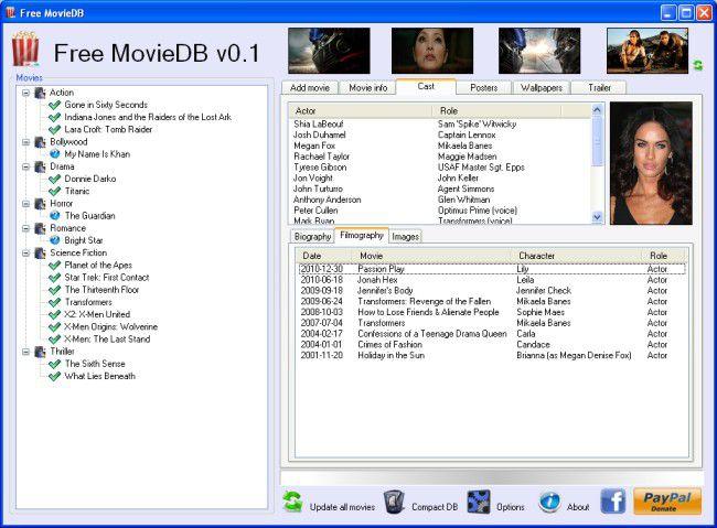 Vorschau Free MovieDB - Bild 3