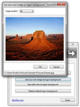 Vorschau InstantLogonChanger - Bild 3